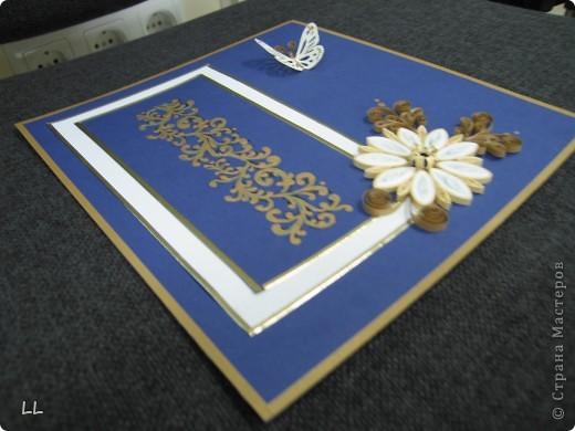 золото на синем фото 2