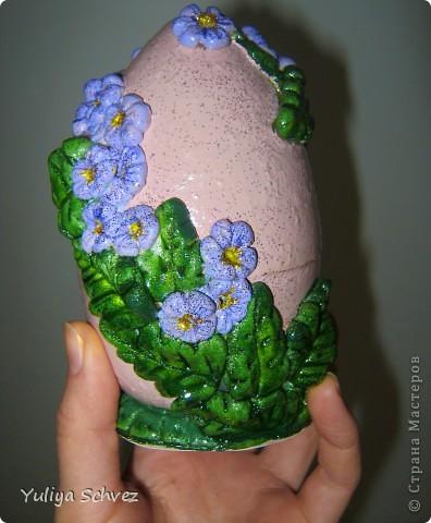 Вот еще один страусинный киндер сюрприз только с цветочками)))) фото 4