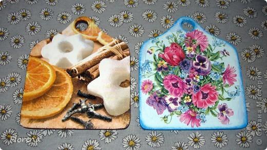 Досочки кухонные сделаны на подарки родственникам. фото 1