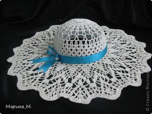 Эту шляпку я вязала себе. фото 1