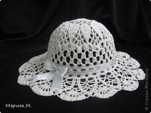 Эту шляпку я вязала себе. фото 5