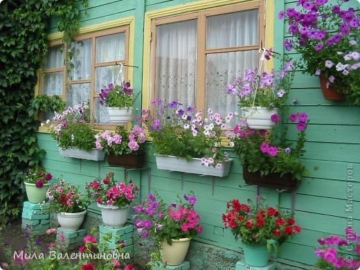 Хочу познакомить Вас, с небольшой частью своих садовых поделок.  Много идей не моих, черпаю из журналов и инета.Лебеди из пленки. Идея не моя Светланы Антаковой, у нее есть МК. фото 16