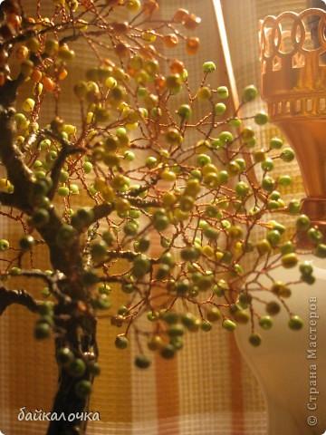 Деревце из бусин фото 2