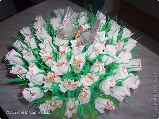 сладкий букет(50 роз) фото 1
