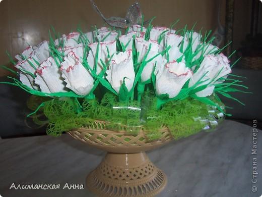 сладкий букет(50 роз) фото 3