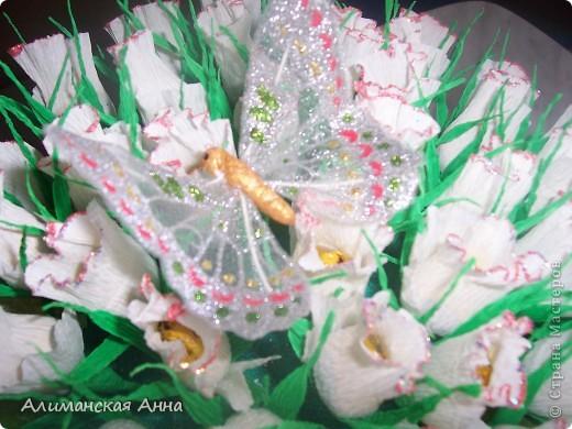 сладкий букет(50 роз) фото 4