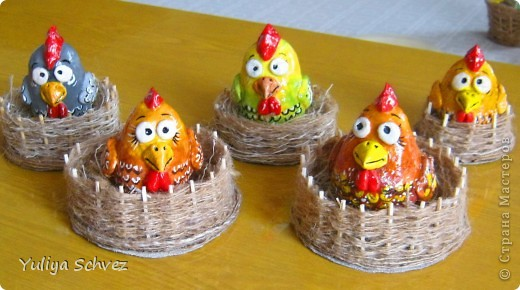 Очень понравились курочки Светланы- Светлячок и К, решила сделать и себе такое чудо))))  http://stranamasterov.ru/node/180318?c=favorite  фото 9