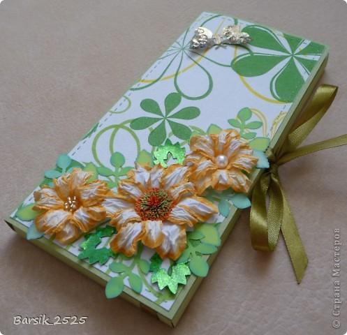 Мой первый конвертик. В нём был подарен билет на концерт для очень хорошего человека на День Рождения. =) фото 3