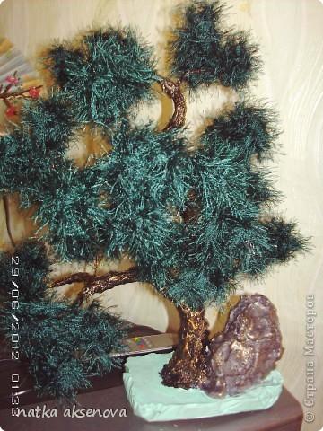Добрый день, всем мастерам и мастерицам. Ну уж очень мне понравилось делать деревья из травки. фото 1