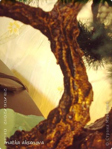 Добрый день, всем мастерам и мастерицам. Ну уж очень мне понравилось делать деревья из травки. фото 3