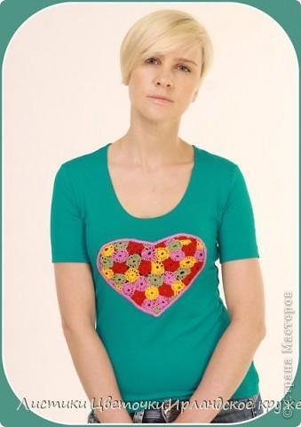 "Коллекция футболок ""Мое сердце"" фото 6"