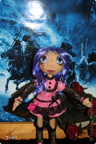 """Текстилные куклы-так сказат """"первая проба пера"""" фото 26"""