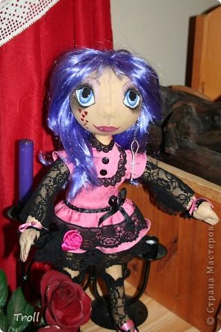 """Текстилные куклы-так сказат """"первая проба пера"""" фото 27"""