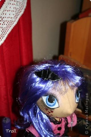 """Текстилные куклы-так сказат """"первая проба пера"""" фото 28"""