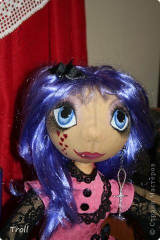 """Текстилные куклы-так сказат """"первая проба пера"""" фото 29"""