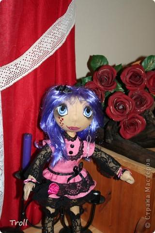 """Текстилные куклы-так сказат """"первая проба пера"""" фото 30"""