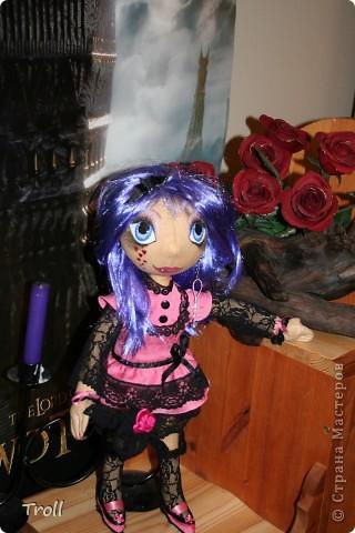 """Текстилные куклы-так сказат """"первая проба пера"""" фото 34"""