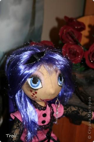 """Текстилные куклы-так сказат """"первая проба пера"""" фото 32"""