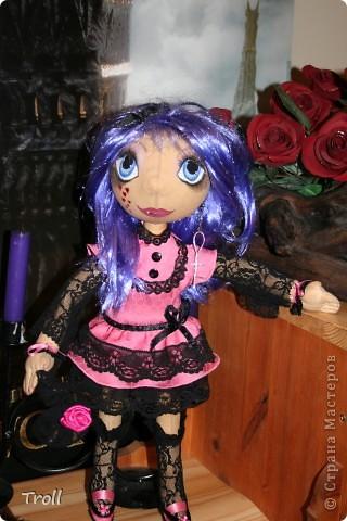 """Текстилные куклы-так сказат """"первая проба пера"""" фото 33"""