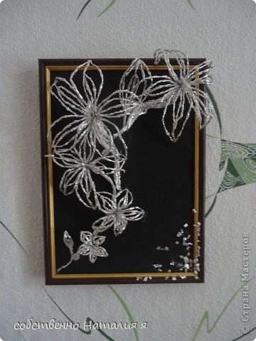 Цветы с фольги фото 2
