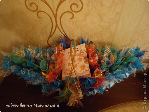 корзинка со сладостями на именины фото 2
