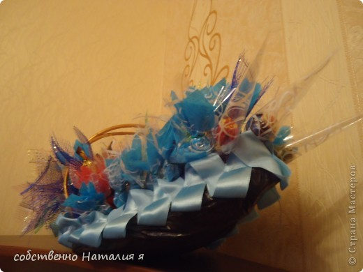корзинка со сладостями на именины фото 1