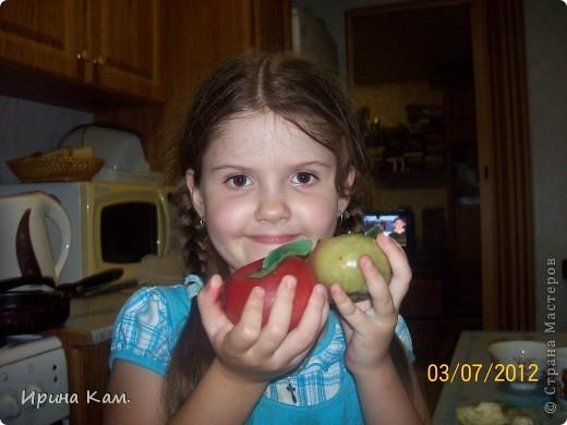 """Это моя вторая работа на замечательный конкурс Миши и Юли http://stranamasterov.ru/node/377886?c=favorite , называется """"Райские яблоки"""". фото 9"""
