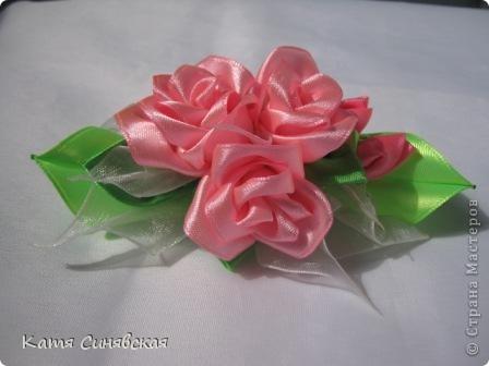 Розовые розы. фото 2