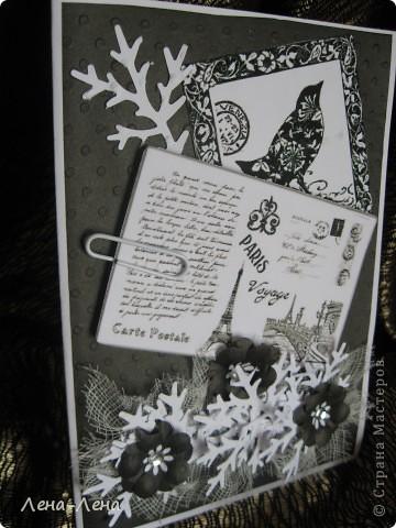 Добрый вечер! Сегодня у меня открытки с тиснёной бумагой. Такая жара, что даже писать не хочется, поэтому просто молча смотрим. Советы и замечания приветствуются фото 7