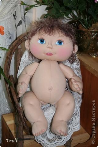 """Текстилные куклы-так сказат """"первая проба пера"""" фото 1"""