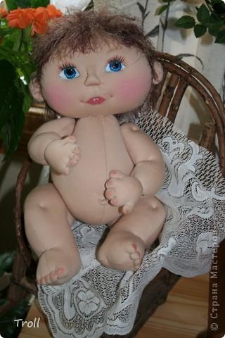 """Текстилные куклы-так сказат """"первая проба пера"""" фото 2"""