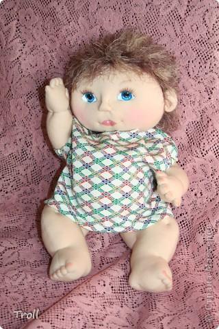 """Текстилные куклы-так сказат """"первая проба пера"""" фото 3"""