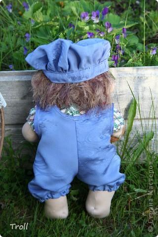 """Текстилные куклы-так сказат """"первая проба пера"""" фото 7"""