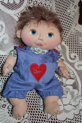 """Текстилные куклы-так сказат """"первая проба пера"""" фото 9"""