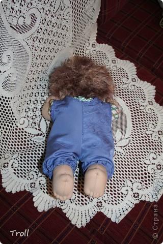 """Текстилные куклы-так сказат """"первая проба пера"""" фото 10"""