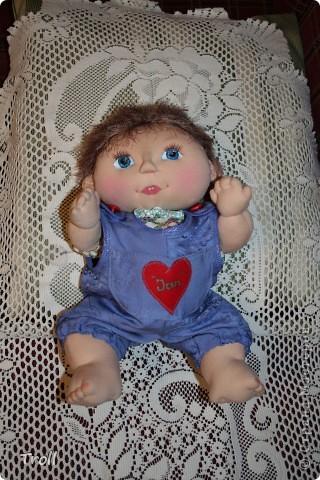 """Текстилные куклы-так сказат """"первая проба пера"""" фото 11"""