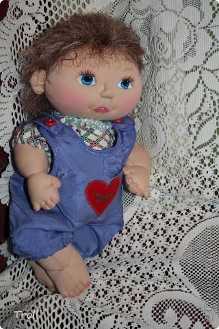 """Текстилные куклы-так сказат """"первая проба пера"""" фото 12"""