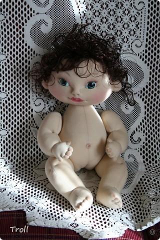 """Текстилные куклы-так сказат """"первая проба пера"""" фото 14"""