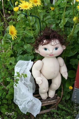 """Текстилные куклы-так сказат """"первая проба пера"""" фото 15"""