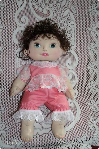 """Текстилные куклы-так сказат """"первая проба пера"""" фото 16"""