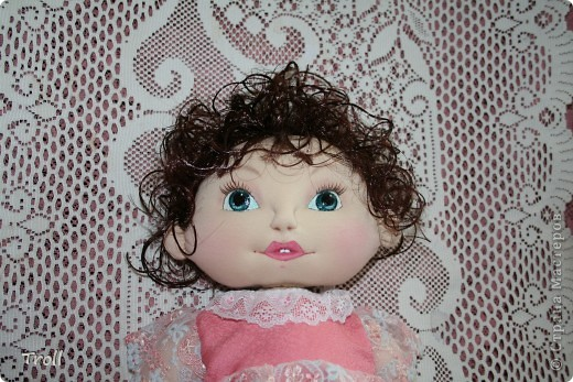 """Текстилные куклы-так сказат """"первая проба пера"""" фото 17"""
