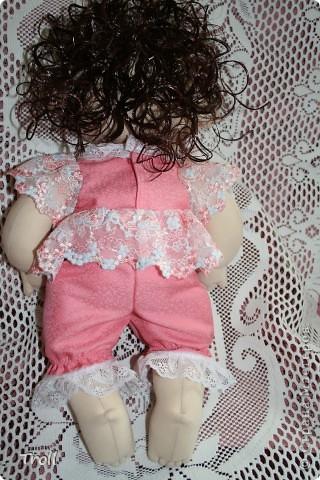 """Текстилные куклы-так сказат """"первая проба пера"""" фото 18"""