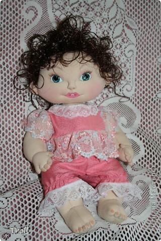 """Текстилные куклы-так сказат """"первая проба пера"""" фото 19"""