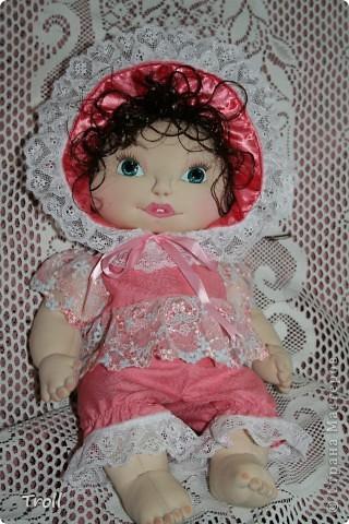 """Текстилные куклы-так сказат """"первая проба пера"""" фото 20"""