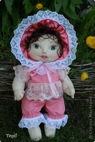 """Текстилные куклы-так сказат """"первая проба пера"""" фото 21"""