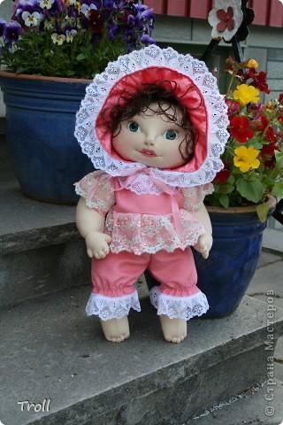 """Текстилные куклы-так сказат """"первая проба пера"""" фото 22"""