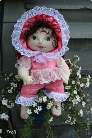 """Текстилные куклы-так сказат """"первая проба пера"""" фото 23"""
