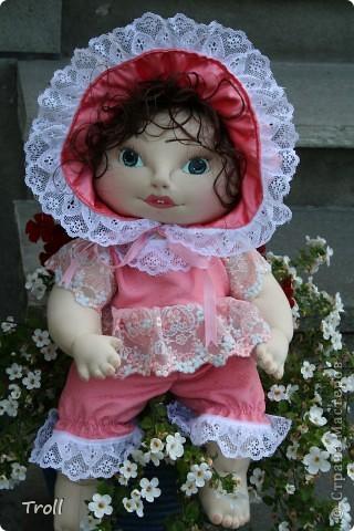 """Текстилные куклы-так сказат """"первая проба пера"""" фото 25"""
