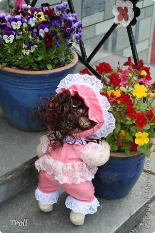 """Текстилные куклы-так сказат """"первая проба пера"""" фото 24"""