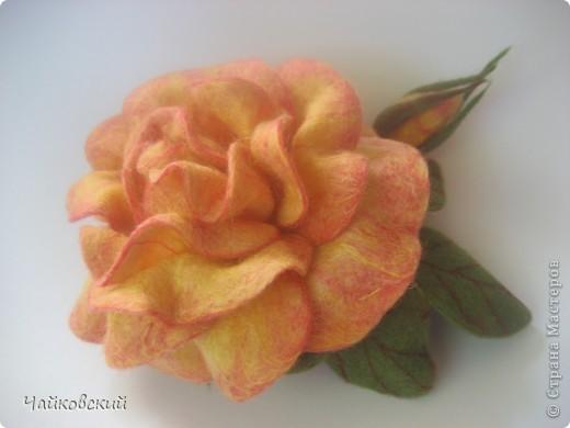 Цветы из шерсти фото 7